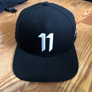 11 By Boris Bidjan Saberi Black New Era Cap